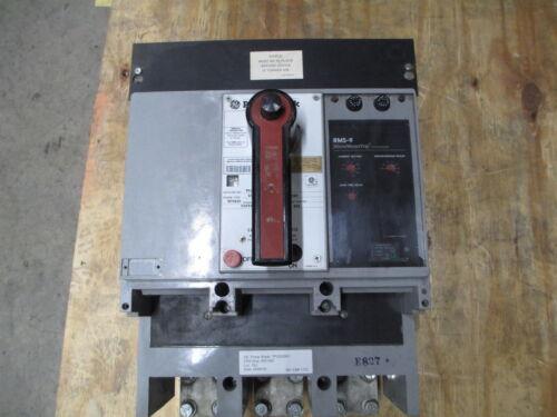 Ge Powerbreak Tp2020se1 2000a 3p 600v Eo/fm Circuit Breaker W/ Li Used E-ok