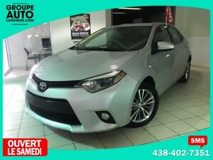 2014 Toyota Corolla LE / CUIR / BLUETOOTH / TOIT OUVRANT / AC /