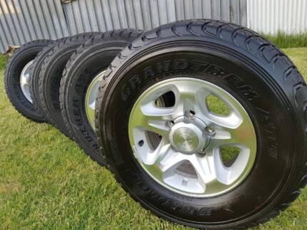 Brand New Toyota Land Cruiser 4x4 Wheels & Tyres