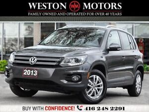2013 Volkswagen Tiguan S*2.0*TSI*LEATHER*PWR GRP!!*TOP OF THE LI