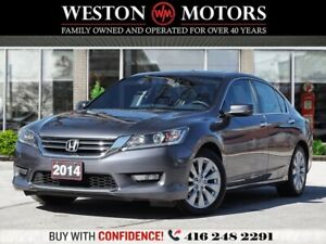 2014 Honda Accord EXL*PWR GRP*BTOOTH*LEATHER*SUNROOF*REVERSE CAM