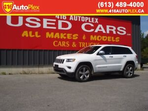2016 Jeep Grand Cherokee Limited Only 28K Leather Loaded
