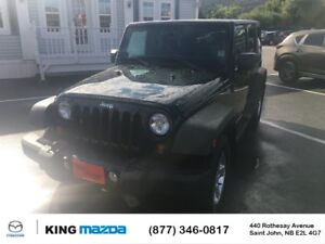 2013 Jeep Wrangler Unlimited Sport- $237 B/W REMOVABLE HARD TOP.