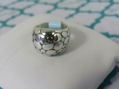 Brighton Silver Pebble Round Dome Ring size   NWoutlet tag   SIZE 9