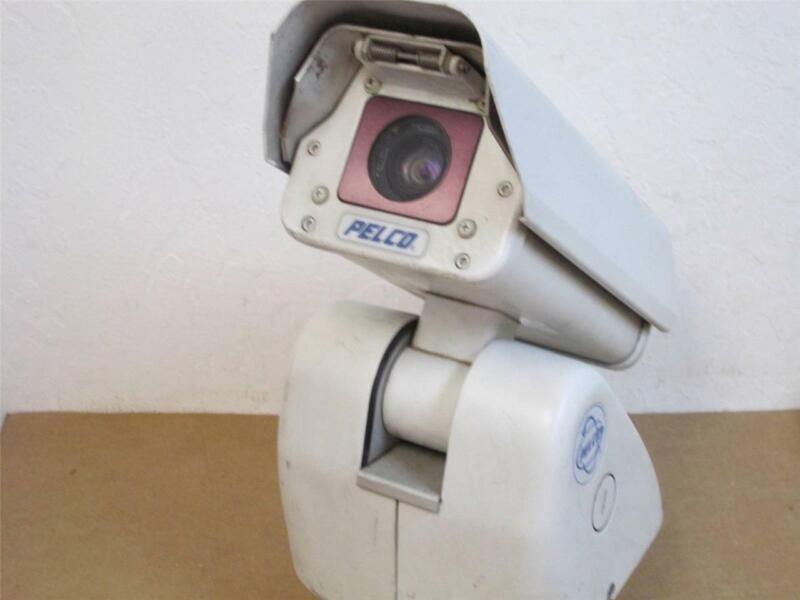 Pelco ES30PCBW18-5N Pan/Tilt Surveillance Camera IOP System; 120/230 Volts