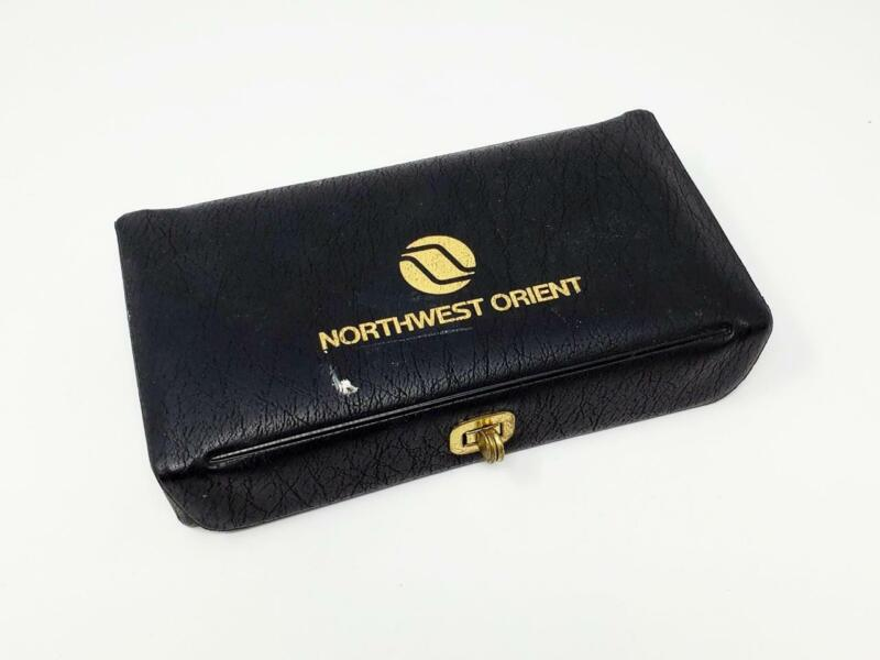 Vintage Northwest Orient Airlines First Class Mens Amenity Kit (a8)