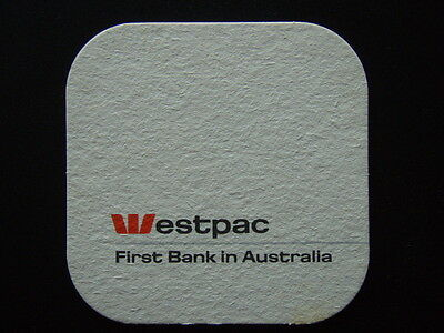 Westpac First Bank In Australia Coaster