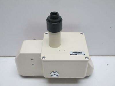 Nikon Meb15900 Dual Optical Path Tube Multi Image Module For Diaphotmicrophot