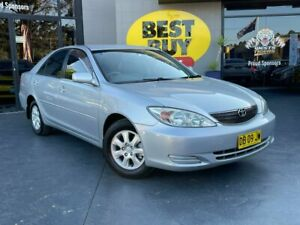 2003 Toyota Camry MCV36R Ateva Magnetic Silver 4 Speed Automatic Sedan Camden Camden Area Preview