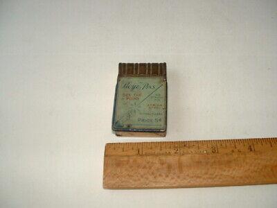 Boye Pins vintage tin