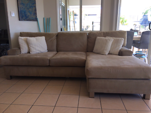 Lounge with chaise - 3+ Seater Mountain Creek Maroochydore Area Preview