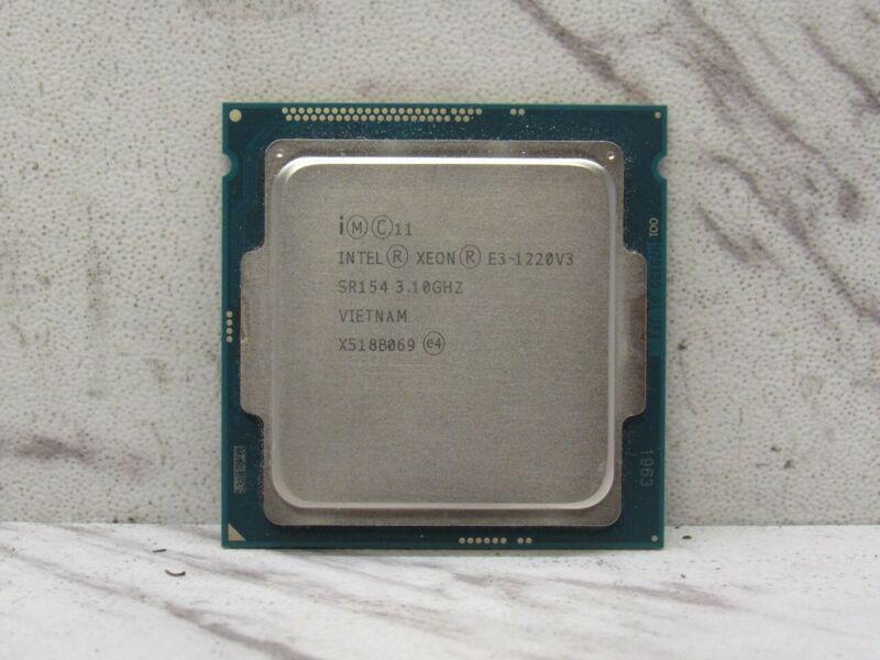 Intel Xeon E3 1220V3 @3.10GHz Quad Core 8Mb Cache 5GT/s LGA1150 SR154 Processor