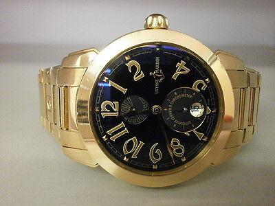 Ulysse Nardin Ulysse I 276-88-8/52 18K Rose Gold 40MM Auto Watch. Gorgeous.