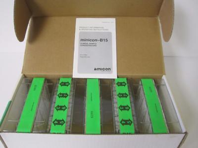 New Amicon Minicon Macrosolute Concentrators 40 Tests B15 Ce3901 Nib
