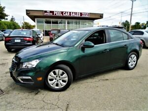 2015 Chevrolet Cruze 1LT| 62Kms| Rearview Camera