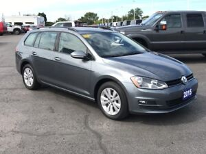 2015 Volkswagen Golf Sportwagon Comfortline LEATHER! BLUETOOT...