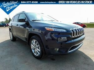 2017 Jeep Cherokee Limited 4x4 | DEMO | Leather | Loaded
