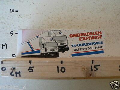 STICKER,DECAL DAF ONDERDELEN EXPRESSE 20-UURS SERVICE