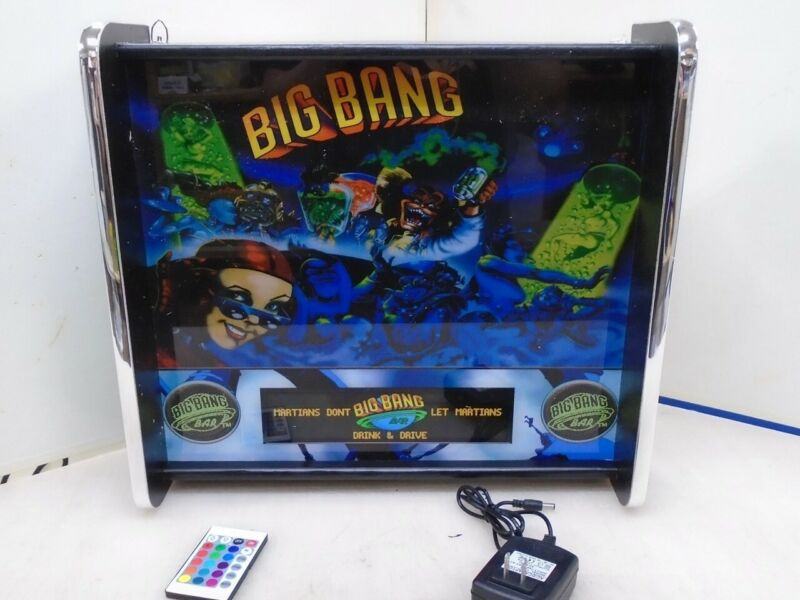 Big Bang Bar Pinball Head LED Display light box
