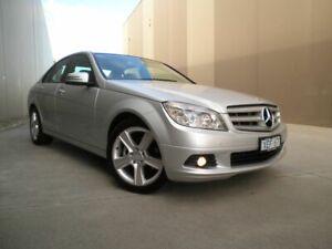 2009 Mercedes-Benz C-Class W204 C200 Kompressor Classic Indium Silver 5 Speed Sports Automatic Sedan