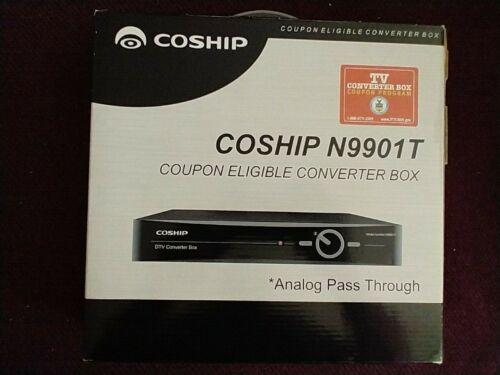 New Coship TV Digital Converter Box N9901T