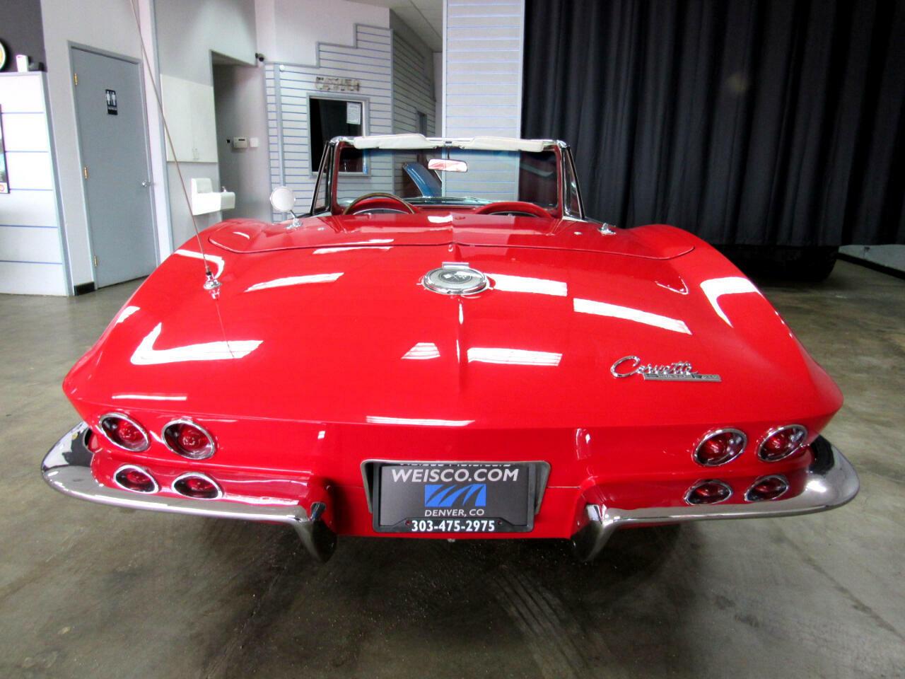 1964 Red Chevrolet Corvette Convertible  | C2 Corvette Photo 6