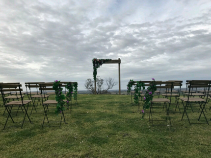 WEDDING CEREMONY CHAIRS $4 EACH