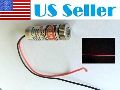 3pcs 650nm 5mw Red Laser Line Module Focus Adjustable Laser Head 5v Us Shipping
