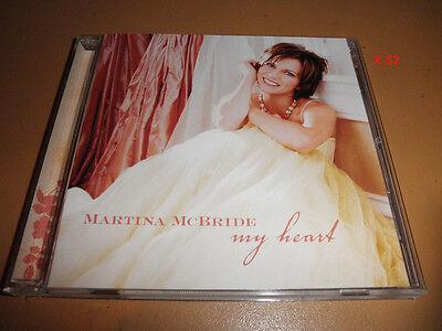 MARTINA McBRIDE cd HALLMARK exclusive MY HEART jim brickman  Jim Brickman Martina Mcbride