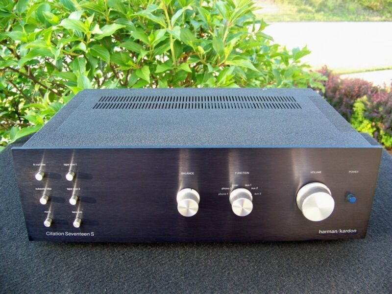 HARMAN KARDON CITATION 17S PREAMP----REBUILD AND RESTORATION SERVICE