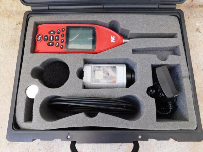 3M TSI QUEST SE-401-IS-AS3 SOUND EXAMINER INTRINSICALLY SAFE SOUND LEVEL METER