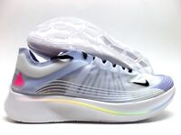 be7da50a095d67 New with box NIKE ZOOM FLY BETRUE WHITE BLACK-PALEST PURPLE SIZE MEN S 11.5   AR4348-105  + Free shipping