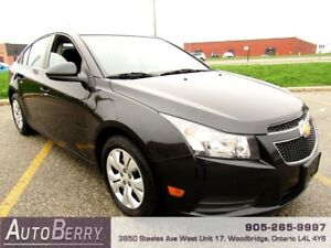 2014 Chevrolet Cruze 1.4L **CERTIFIED ACCIDENT FREE** $8,999
