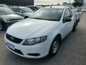 2011 Ford Falcon FG Upgrade White 6 Speed Auto Seq Sportshift Cab Chassis Wangara Wanneroo Area Preview