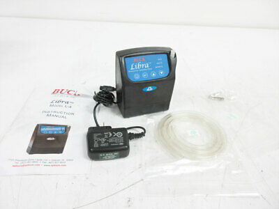 A.p. Buck Apb-926000 Libra L-4 Pump With Power Supply Air Sampler