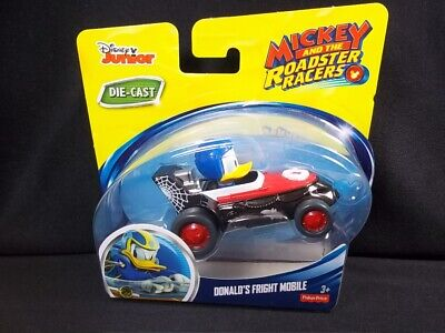 Fisher Price Mickey Mouse Roadster Racers Donald's Fright Mobile Halloween NEW