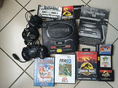 Lot numero 2 Sega mega Drive 2 MG2 + Jeux