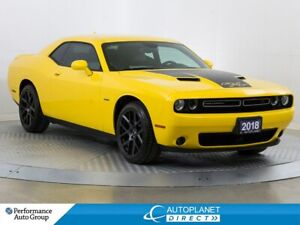 2018 Dodge Challenger R/T, Navi, Back Up Cam, Blind Spot Monitor