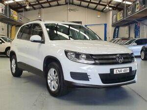 2014 Volkswagen Tiguan 5NC MY14 118 TSI (4x2) Pure White 6 Speed Direct Shift Wagon Seven Hills Blacktown Area Preview