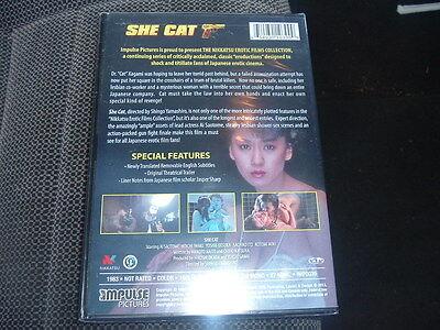 SHE CAT DVD FILM NOIR NEW JAPANESE CULT Nikkatsu Erotica HAPPY HALLOWEEN Global - Music Films Halloween