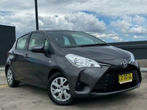 2017 Toyota Yaris NCP130R Ascent Grey 4 Speed Automatic Hatchback Blacktown Blacktown Area Preview