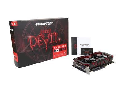 PowerColor RED DEVIL Radeon RX 580 DirectX12 AXRX 580 8GBD5-3DH/OC 8GB 256-Bit