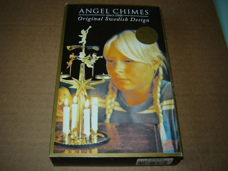 Angel Chimes NEW in box Original Swedish Design Christmas candles