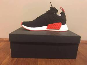 Adidas NMD R2 PK Black Red US 10 Meadowbank Ryde Area Preview