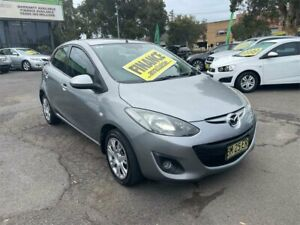 2011 Mazda 2 DE10Y1 MY11 Neo Silver 4 Speed Automatic Hatchback Lidcombe Auburn Area Preview