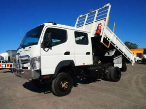 2012 Fuso Canter FG 4x4 Dual Cab Tipper South Murwillumbah Tweed Heads Area Preview