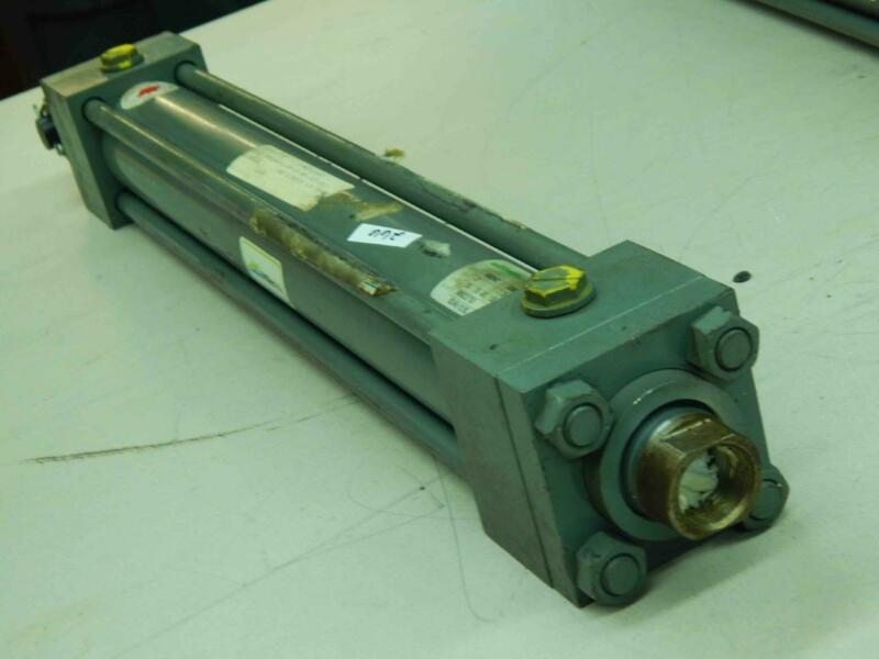 """Miller Hydraulic Cylinder Stroke: GS 15"""" / WS 10"""", Bore 2"""", Rod 1-⅜"""", 5000 PSI"""