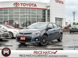 2014 Toyota Corolla S: HEATED SEATS, BLUETOOTH, BACK UP CAM Look