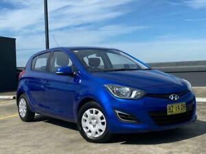 2012 Hyundai i20 PB MY13 Active Blue 4 Speed Automatic Hatchback Blacktown Blacktown Area Preview