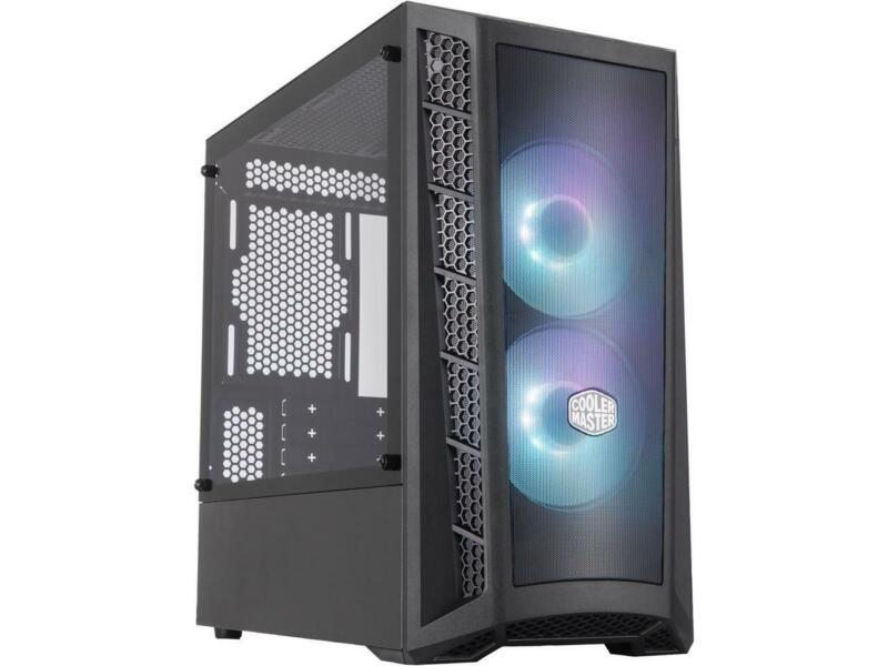 Cooler Master MasterBox MB311L ARGB Airflow Micro-ATX  Mini Tower with Dual ARGB